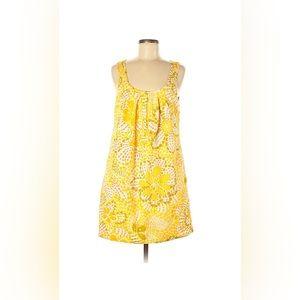 J. Crew 60s Print Vintage Look Shift Dress Sz 8